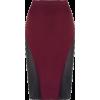 burgundy skirt - Suknje -
