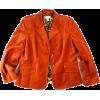 burnt orange jacket - アウター -