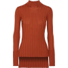 burnt orange sweater - プルオーバー -