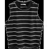 byMattressQueen - Ärmellose shirts -