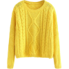 cable knit sweater - Pullovers -