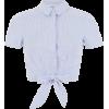 camisa celeste - Košulje - kratke -