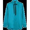 camisa turquesa - Long sleeves shirts -