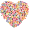 candy hearts Valentines - Food -