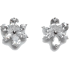 carolina herrera CRYSTAL JASMINE EARRING - Earrings -