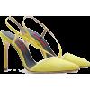 carolina herrera SUEDE PUMPS WITH STRAPS - Klassische Schuhe -