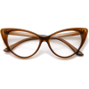 cat eye glasses with high pointed corner - Eyeglasses -