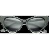 cat eye sunglasses - 墨镜 -