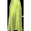 chartreuse skirt - Röcke -