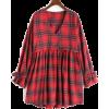 checkered mini dress - Haljine -