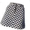 checkered skirt - Skirts -