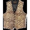 cheeta waistcoat - Vests -