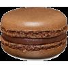 chocolate macaron - Food -