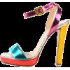 christian-louboutin-metallic-specchio-ca - Sandals -