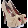 Cipele Shoes Beige - Shoes -