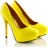 Shoes Yellow - Buty -