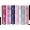 classic books in pastel - Items -