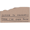 closer to happiness text - Texte -