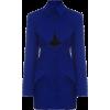 cobalt dress1 - Vestidos -
