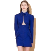 cobalt dress - Vestidos -