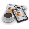 coffee newspaper iPad - Articoli -