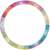 Colorful Round Frame - Frames -