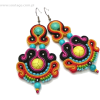 colorful Soutache earrings - 耳环 -