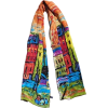 colorful scarf - Scarf -
