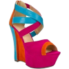 colorful wedges - Zeppe -