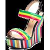 colorful wedges - Plataformas -