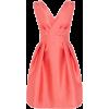 Coral Dress - Dresses -