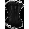 Corset Black - Underwear -