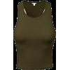 crop top - Camisas sem manga -