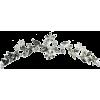 crown, hair vine, flower, leaf, tiara - Resto -