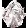 crumpled paper - Przedmioty -