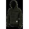 cure - black plaid - Long sleeves t-shirts -