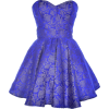 Dresses Blue - Vestidos -