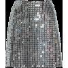 David Koma, Silver, Metallic  - Skirts -
