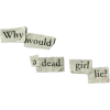 deadgirllie - Texts -