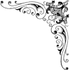 deco corner vector - Illustraciones -