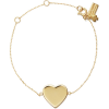 demi fine heart line bracelet - Bracelets -