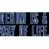 denim - Texte -