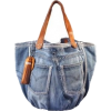 denim bag - Messenger bags -
