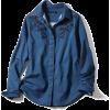 denim blouse - Long sleeves shirts -