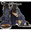 denim heels - Sandálias -