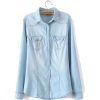 denim shirt - Long sleeves shirts -
