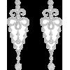 diamond earrings - Earrings - $9.00