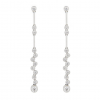 diamond earrings - Earrings - $9.00