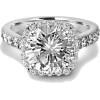 diamond engagement ring - Pierścionki -