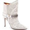 Boots White - Stiefel -